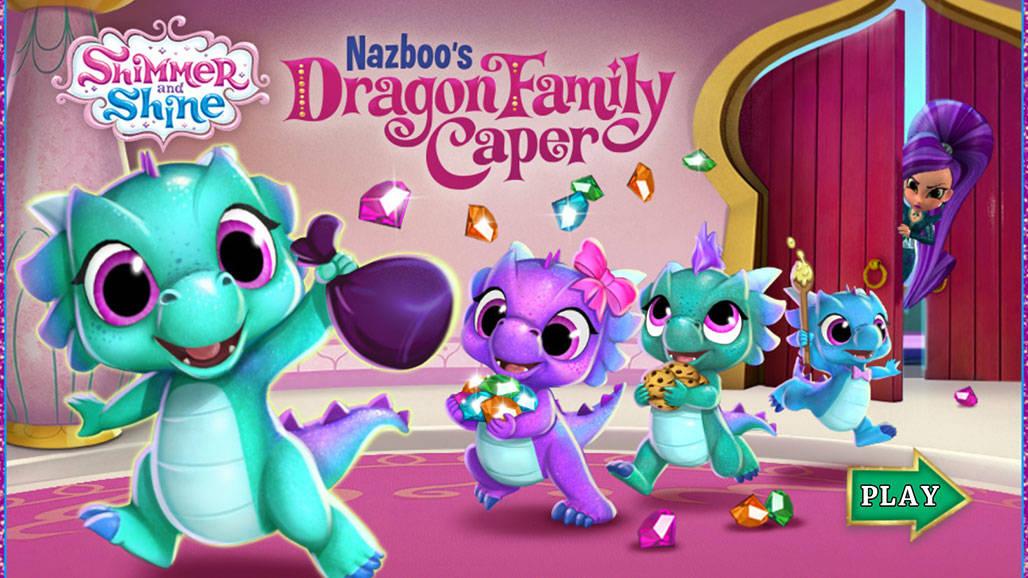 Σίμερ & Σάιν: Nazboo's Dragon Family Caper
