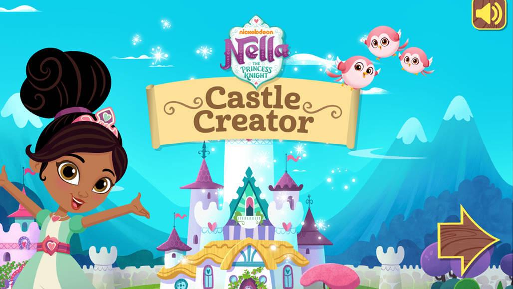 Νέλλα η Πριγκίπισσα Ιππότης: Φτιάξε το κάστρο