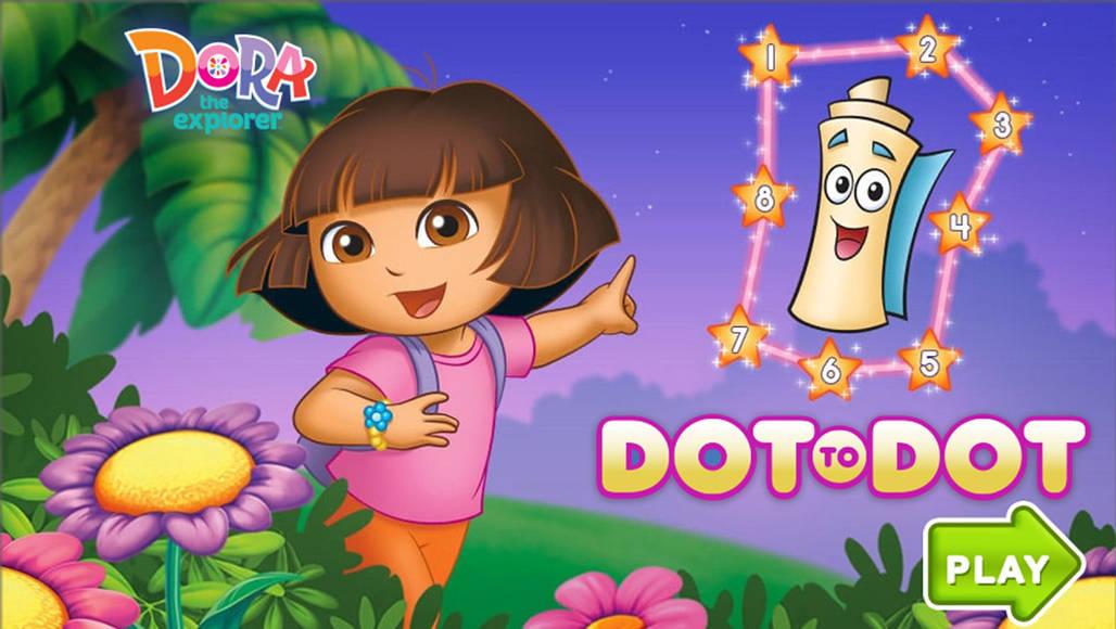 Ντόρα η μικρή εξερευνήτρια- Dot to Dot